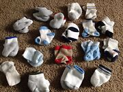 Newborn Boy Socks Lot