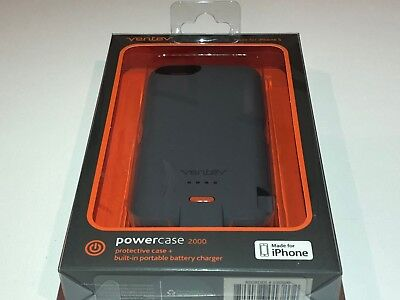 Ventev PowerCase 2000mAh for the Apple iPhone 5/5S/5SE buit in...