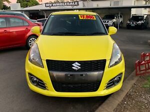 2012 Suzuki Swift Sport 4Cyl Manual Hatch SALE!!! RWC Log Books Maryborough Fraser Coast Preview