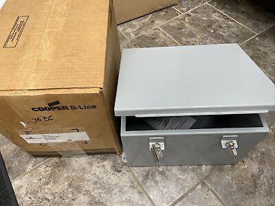 Cooper Nema 12 Electrical Enclosure Juncion Box 12x10x8 12108-12chc