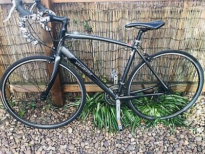 Specialized Secteur ROAD RACING BIKE Large 56cm. Grey.Triple Chainset. 24 Gears.