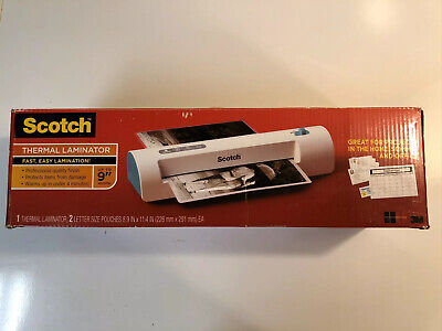 Scotch Thermal Laminator Tl901c-t Professional Quality Finish Used