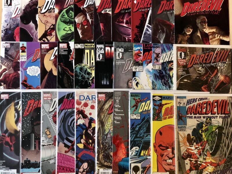 (30) DAREDEVIL comics #1 58 184 Frank Miller 100 Turner 110 118 VARIANTS Marvel