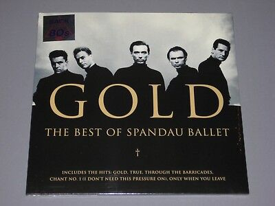 SPANDAU BALLET  Gold Best Of 2LP Back to the 80s gatefold New Sealed Vinyl 2 (Best Of 80s Vinyl)