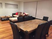 4 Piece Wood Set - Must be sold Braybrook Maribyrnong Area Preview