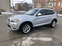 2013 BMW X3 28i ACCIDENT FREE!! PANO ROOF!! NAVIGATION!!