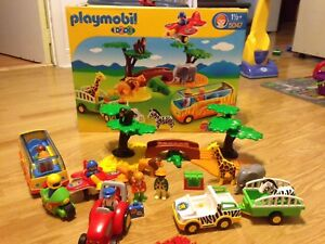 Playmobil 1 2 3 Safari