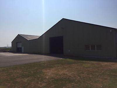 Stahlkonstruktion Stahlhalle Lagerhalle Satteldachhalle Produktionshalle 15x30 m