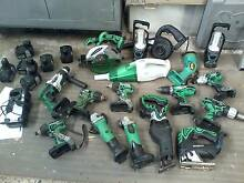Hitachi cordless 18V tools and batteries Brookvale Manly Area Preview