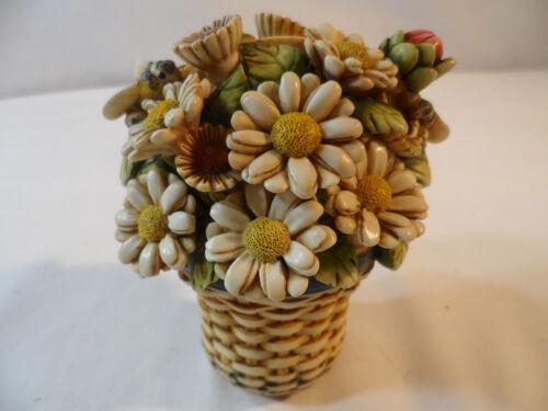 ***Harmony Kingdom Daisy Basket Figurine