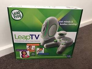 LEAP FROG: LEAP TV in Box -  Educational TV Video Game Console Sy Campbelltown Campbelltown Area Preview
