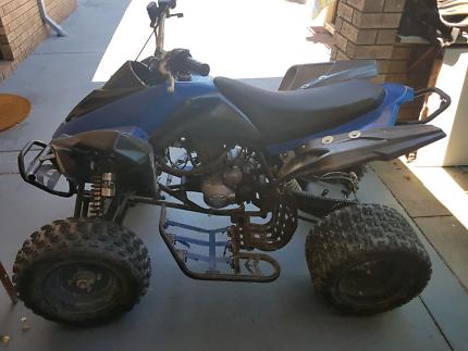 250cc quad bike - new engine