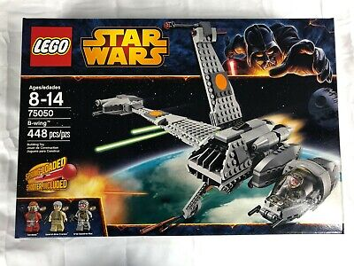 LEGO STAR WARS RETIRED #75050 B-WING FIGHTER NEW SEALED BOX MISB 448 PIECES