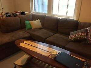 Comfy Plush 4-5+ Seater L Shaped Couch Northbridge Willoughby Area Preview