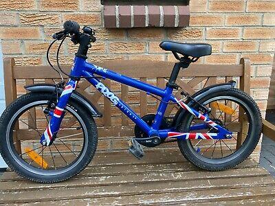 Frog 48 kids bike -Blue / Union Flag Design