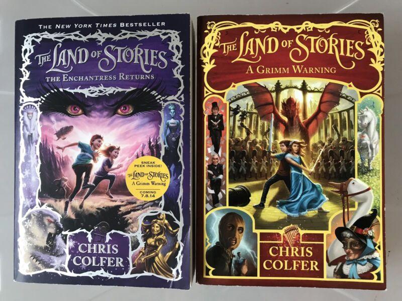 Land Of Stories By Chris Colfer Fiction Books Gumtree Australia