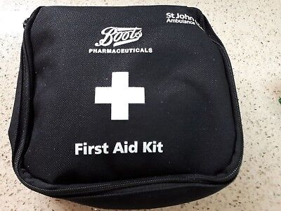 Boots First Aid Zipped bags with some contents - ideal for hiking/camping