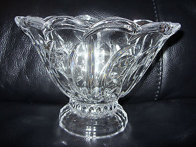 LEAD CRYSTAL Glass BOWL :) Boxed