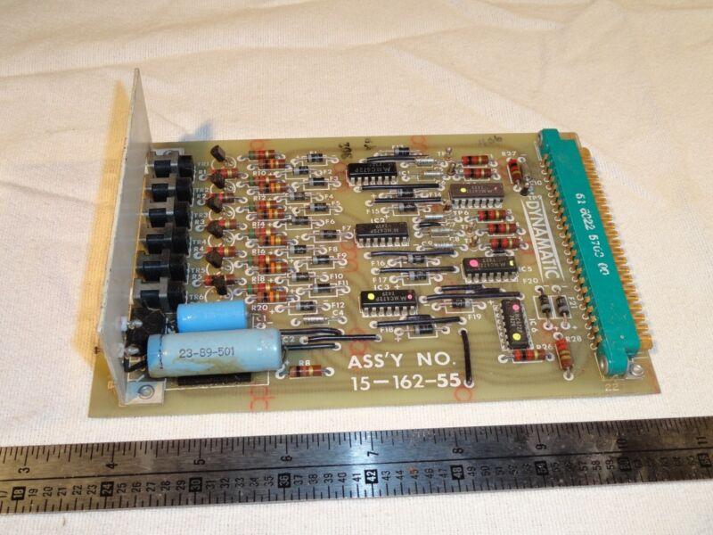 DYNAMATIC 15-162-55 42-98-10 70-47-174 PCB CIRCUIT BOARD