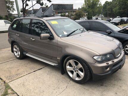 BMW X5 E53 4.4L V8 automatic now wrecking!! Northmead Parramatta Area Preview