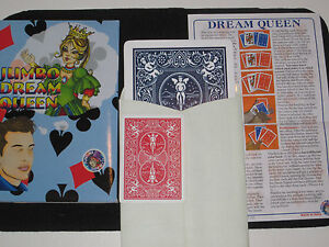 Jumbo Dream Queen - Awesome Mental Magic Trick - Now in Stage Size Jumbo Cards