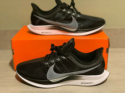 Men's Nike Zoom Pegasus 35 Turbo Black Grey UK 10 EUR 45 BNIB *AJ4114 001*