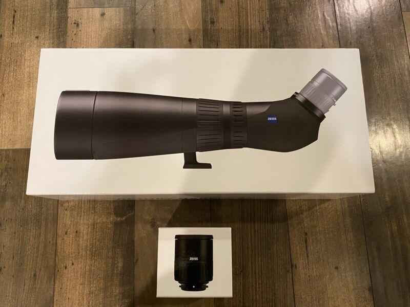NEW 2020 Zeiss Victory Harpia 95mm Spotting Scope WITH EYEPIECE nt Swarovski ATX