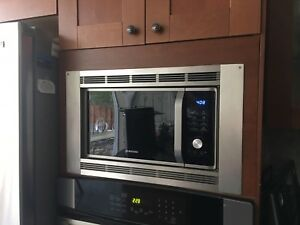"Panasonic Microwave Trim SS Kit 27"", $100"