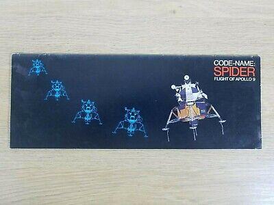 NASA Apollo 9 Color Brochure Code Name Spider