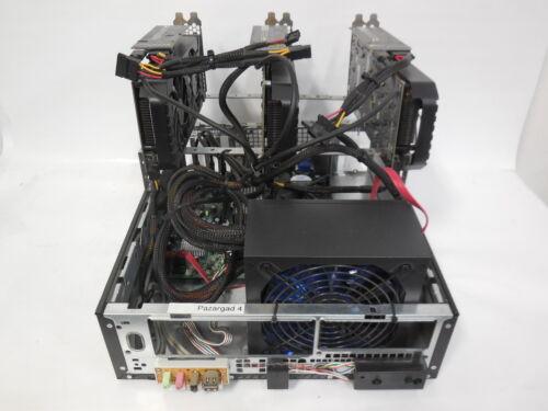 3 GPU Crypto Mining Rig (Ethereum/ZEC/Alt Coin) Geforce 6GB