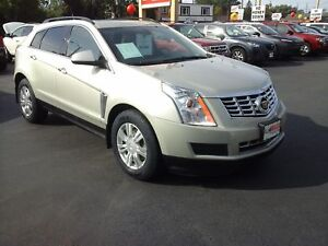2013 CADILLAC SRX LEATHER COLLECTION - PANORAMIC SUNROOF, NAVIGA