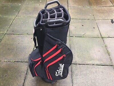 Titleist Lightweight Cart / Trolley Golf Bag. 2020 Model