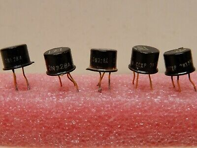 Lot Of 5 2n328a Transistors Look Used