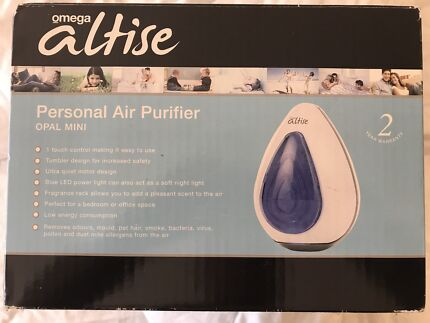 Omega Altise Air Purifier and Night Lamp