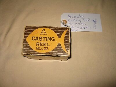Vintage FIshing Reel Mizuho Castin Reel No. C221