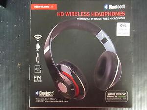 SOUNDLOGIC  HD WIRELESS HEADPHONES  2AGKLTM-012  RC 2740