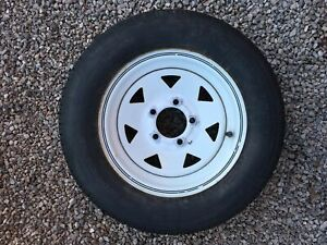 Two 13 inch trailer tires for sale
