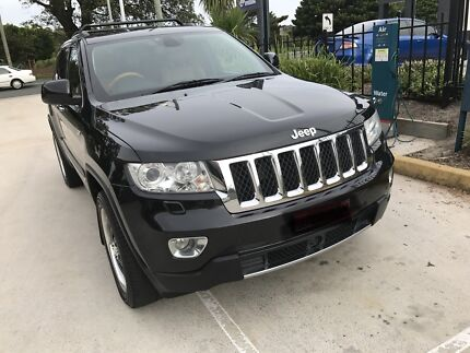 2012 Jeep Grand cherook overland turbo diesel one year rego low kms