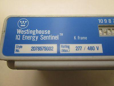Westinghouse Iq Energy Sentinel Style 2D78575g02 277 480Vac K Frame