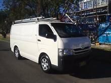 Toyota Hiace 2008 Automatic, Turbo Diesel, Log books, 1 Owner!!!! Lidcombe Auburn Area Preview