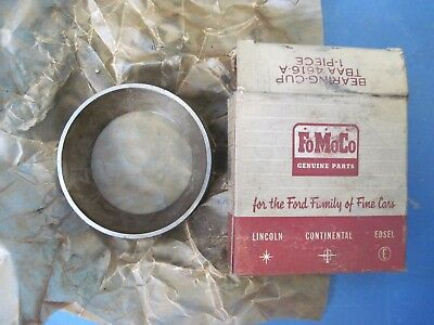 NOS differential drive pinion rear bearing cup Ford passenger cars 1957-1959