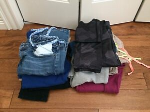 Lot of girl's clothes XL