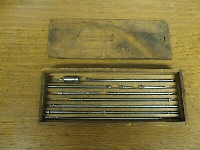 Vintage Brown Sharpe 267 Inside Micrometer Set 2-12