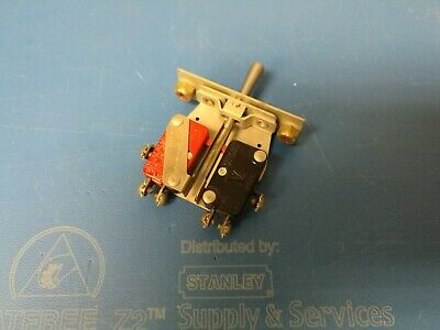 Micro Switch Toggle Switch Spdt On-off-on 1at2 Ms25016-2 New