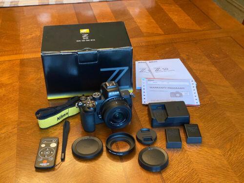 Nikon Z 50 Mirrorless Digital Camera with 16-50mm Lens *W/ Extras and Warranty*