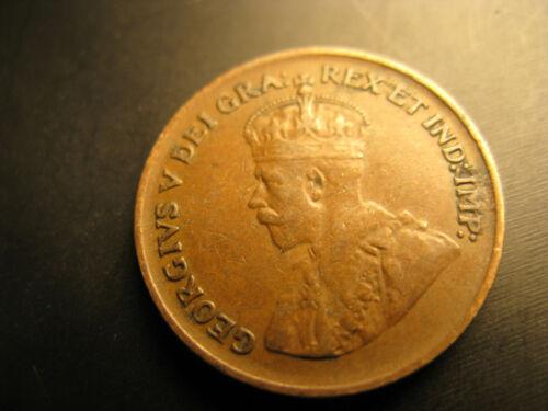 Canada 1931 Keydate Rare Nice Grade Small Cent Penny.
