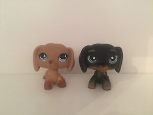LPS Littlest Pet Shop Dachshund Lot (RARE)
