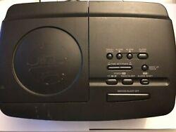 Sony ICF-CD-810 Stereo CD Player Digital Dual Alarm Radio AM/FM