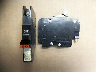 Fpe Federal Pacific Nc 1 Pole 50 Amp 120240v Nc150 Circuit Breaker Flaw 091