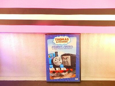 Thomas and Friends: Steamies vs. Diesels on DVD